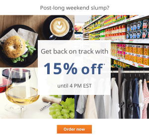 15% off delivery.com