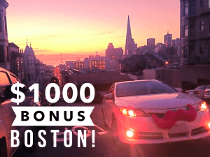 Lyft $1000 Bonus New Drivers Boston
