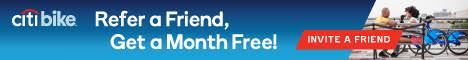 Citibike Refer a Friend Get a Free Month