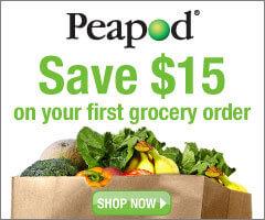 Peapod $15 Off Promo Code