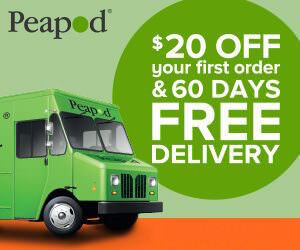 Peapod $20 Off + 60 Days Free Delivery