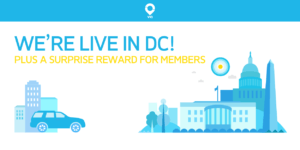 ridewithVia Washington DC Logo