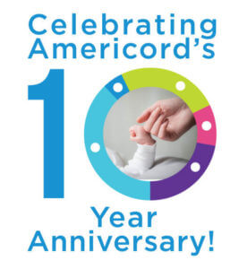 Americord 10 year anniversary cord blood banking discount promo code