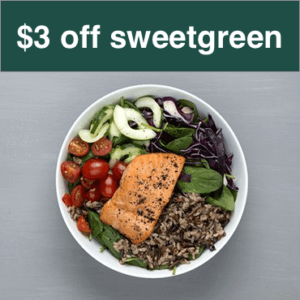 sweetgreen promo code coupon