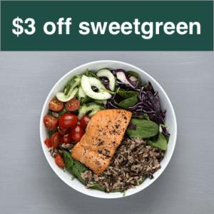 sweetgreen promo code coupon